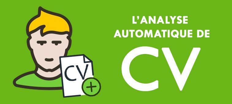 """L'analyse de CV automatique ou """"parsing""""."""