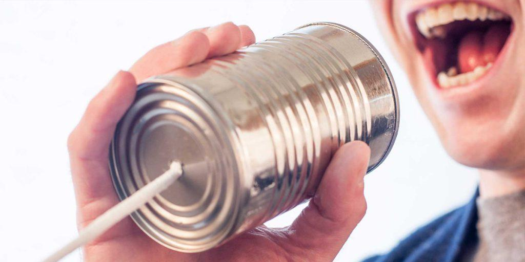 Communication within an employment agency